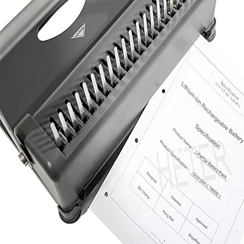 Genie CB 850 Spiral-Binding Device (up To 350 Sheets DIN
