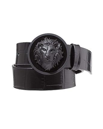 b91a215db Versus Versace Mens Lion Croc Belt: Amazon.co.uk: Clothing