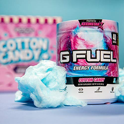 G Fuel Cotton Candy Tub (40 Servings) Elite Energy and Endurance Formula 9.8 oz. by G Fuel (Image #6)