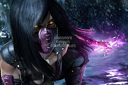 CGC Huge Poster - Mortal Kombat XL Mileena PS4 XBOX ONE X - EXT377 (24