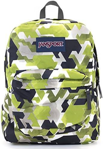 Jansport Superbreak Backpack Multi water Color Angles