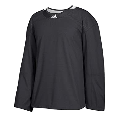 cheap for discount b8055 d90a9 Adidas 3Stripe Practice Jersey Men's Hockey: Amazon.ca ...