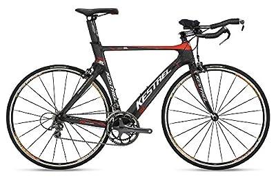 2009 Kestrel Talon SL Triathlon 57CM Bike 19906057 Black/Red/Carbon