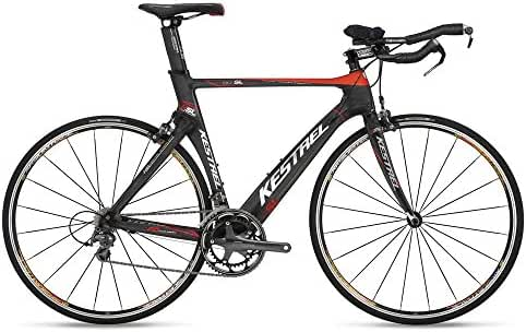 2009 Kestrel Talon SL Triathlon 57CM Bike 19906057 Black/Red/Carbon
