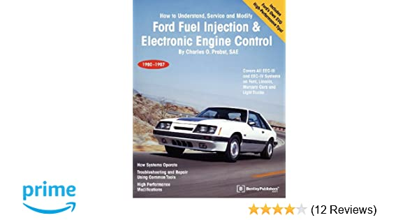 Ford fuel injection electronic engine control how to understand ford fuel injection electronic engine control how to understand service and modify 1980 1987 charles o probst 9780837603025 amazon books fandeluxe Images