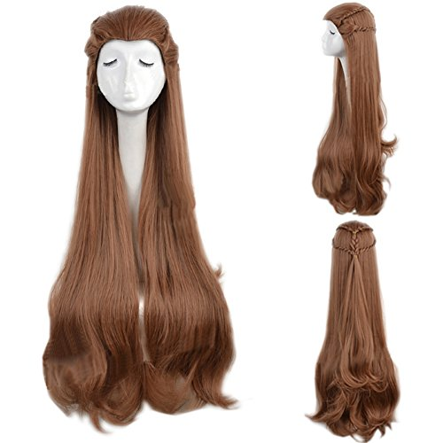 Tauriel Elf Costumes (The Hobbit / The Lord of the Rings Elf Tauriel Cosplay Wig Golden Brown Hair)