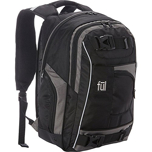 ful-travel-laptop-backpack-black-grey