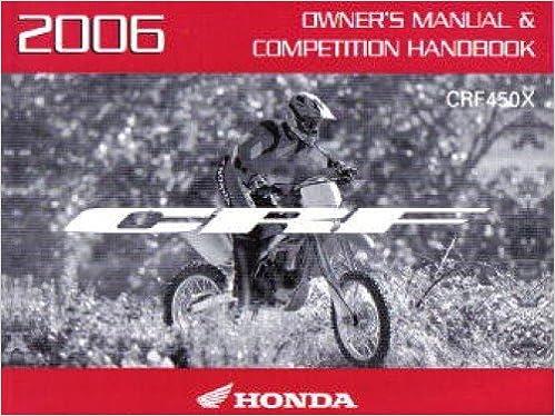 Honda crf450r honda crf450x print cyclepedia motorcycle service manual.