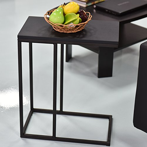 Coffee Tray Sofa Side Table: Tangkula Coffee Tray Sofa Side End Table Ottoman Couch