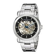 Amazon Lightning Deal 80% claimed: Stuhrling Original Men's 387.3311 Classic Delphi Antium Automatic Skeleton Black Dial Watch