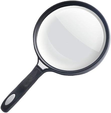 Cxjff Lupa con Lupa de Mano Ligera con Campana extractora Evaluación de Joyas Antiguas iluminadas, Blanco-4 * 13 * 3.5 cm 2X 4X 25x Lupa de Mano Ligera (Color : Parent, Size : 4 * 13 * 3.5cm): Amazon.es: Hogar