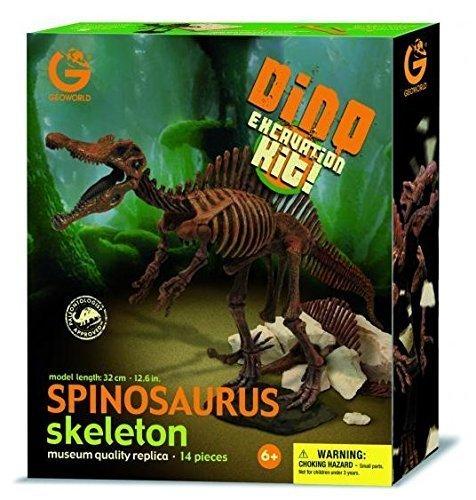 Geoworld Dinosaur Skeleton Excavation kit Spinosaurus Specimen (Japan