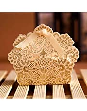 Gift boxes and distributions for events, parties and holidays / 20 boxes - beige color