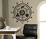 Legend of Zelda Wall Decal Gate Of Time Vinyl Sticker Princess Zelda Home Interior Living Room Decor Door Stickers Housewares Design Anime Manga Kids Children Room Idea Bedroom Custom Decals 6(zda)