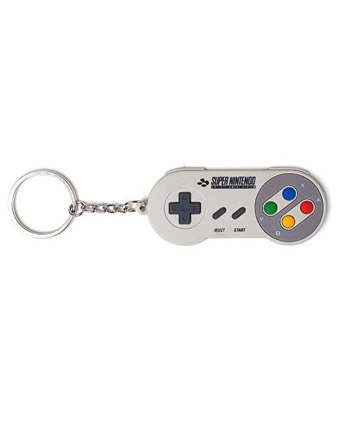 Amazon.com: Nintendo Super driver 3d llavero, multicolor ...