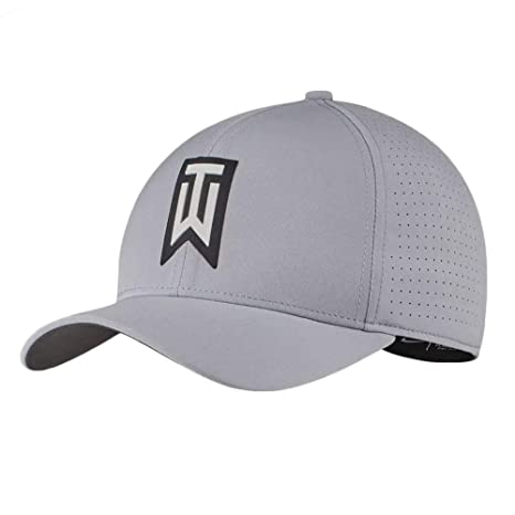 121a699f35cf8 Nike TW AeroBill Classic 99 Performance Golf Cap 2018 Wolf  Gray Anthracite Black Large