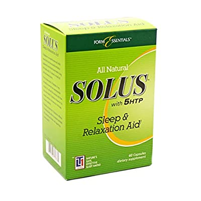 Solus Sleep and Relaxation Aid - 180 Capsules (3 x 60 Capsules)…