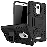 TARKAN Coolpad Note 5 Case, Hard Armor Hybrid Rubber Bumper Kick Stand Back Cover for New Coolpad Note 5 - The Beast [Black]