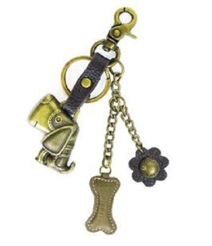 Chala Purse Bag Charm Clip On Key Ring TOFFY DOG Cluster Stockin stuffer