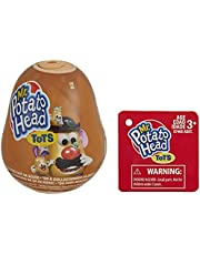 Mr Potato Head Tots Collectible Figures; Mini Collectible Toys for Kids Ages 3 & Up; Mr. Characters