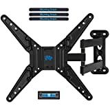 Mounting Dream MD2413-MX TV Wall Mount Bracket for most of 26-55 Inch LED, LCD, OLED Flat Screen TV with Full Motion Swivel Articulating Arm, up to VESA 400x400mm and 60 LBS with Tilting
