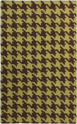 Frontier 19 Houndstooth Contemporary Rug Size: 3' 6