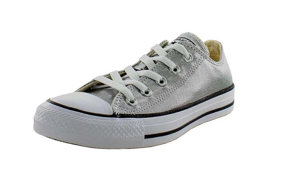 Converse Womens Unisex All star Fashion Sneaker B01C9JETPQ 6 B(M) US Women / 4 D(M) US Men|Gunmetal/White/Black Gunmetal/White/Black 6 B(M) US Women / 4 D(M) US Men