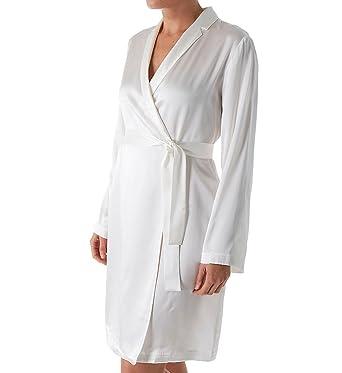 La Perla Women s Silk Short Robe at Amazon Women s Clothing store  f860e16f4