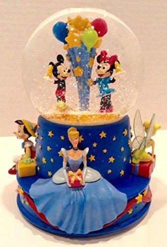 Disney Musical Birthday Water Globe by Disney