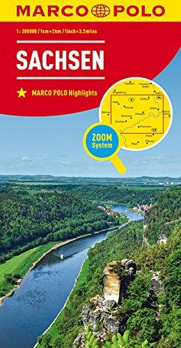 MARCO POLO Karte Deutschland Blatt 9 Sachsen 1:200 000 (MARCO POLO Karten 1:200.000)