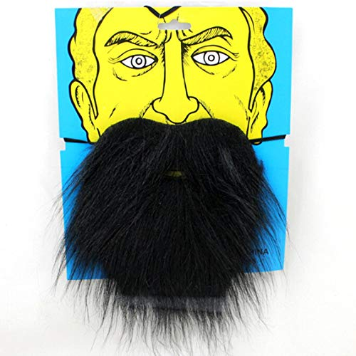 Halloween Funny Costume Party Fake Beard Santa Claus Moustache]()