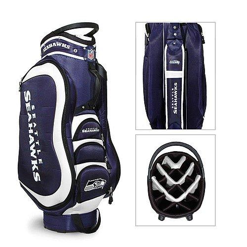 Seattle Seahawks Medalist Golf Cart Bag (Seattle Cart Golf Bag Seahawks)