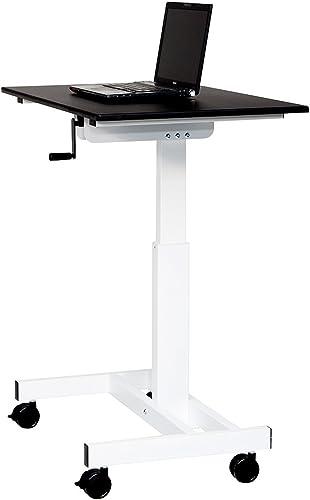 Luxor 40 Single Column Crank Stand Up Desk – 45.25 H x 39.37 W x 23.62 D