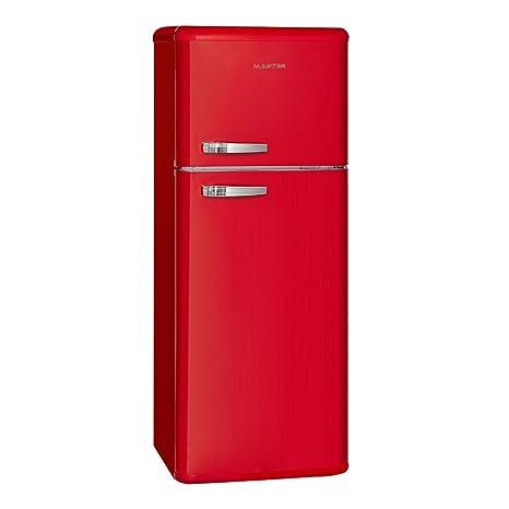 Master A211024114 Libera installazione 157L 51L A+ Rosso frigorifero ...