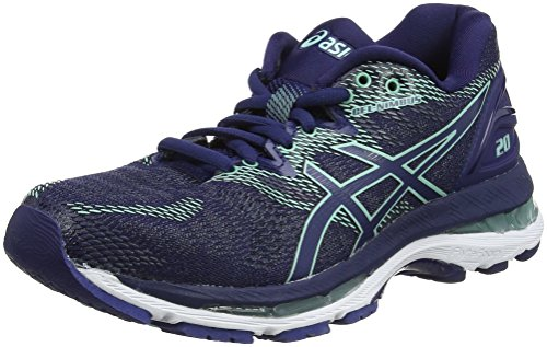 Opal Shoes Asics Running 20 Green Gel Nimbus Blue Blue Blue 4949 Women's Indigo Indigo 6wRqRPxHX
