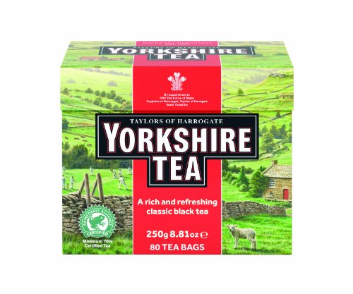 Taylors of Harrogate Yorkshire Red, 80 Teabags (Master Tea)