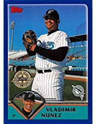 2003 Topps Home Team Advantage #142 Vladimir Nunez NM-MT Marlins