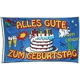 Flagge Geburtstagsflagge Alles Gute zum Geburtstag - 90 x 150 cm