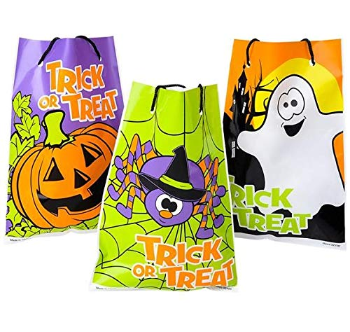 Rhode Island Novelty Halloween Theme Trick Treat Drawstring Goody Bags | 36 Units | 1 Design Per Order