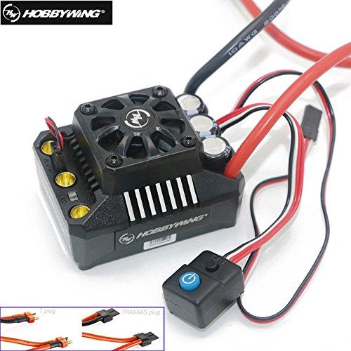 Hobbywing EZRUN Max8 V3 150A Waterproof Brushless ESC Traxxas/T PLUG For RC 1/8 E-REVO Traxxas Summit HPI Savage Thunder Tiger (T plug) - Thunder Tiger Brushless Motors