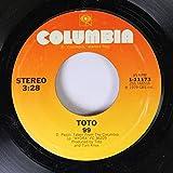 Toto 45 RPM 99 / Hydra