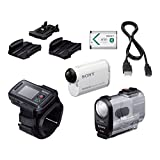Sony HDR-AS200VR/W Action Cam + Live View Remote Kit by Sony