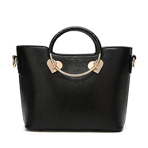 Besace Mode Black Couture à Sac De Femme Main Pour épaule Sac 06qvtwn