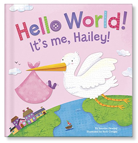 Personalized Baby Board Book | Best Unique Newborn Baby Shower Gift