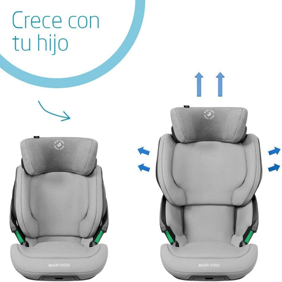 Maxi-Cosi Kore Silla de coche grupo 2//3 isofix I-Size crece con el ni/ño desde 4 hasta 12 a/ños protecci/ón lateral superior color Authentic Black 15-36 kg