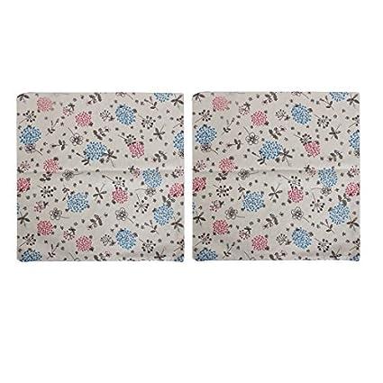 Amazon.com: eDealMax Floral Cojín Almohada Impreso caso de ...