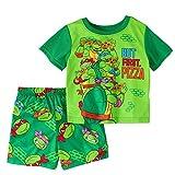 5t ninja turtle pajamas - Teenage Mutant Ninja Turtles Boy 2 PC Short Sleeve Pajama Set Size 5T