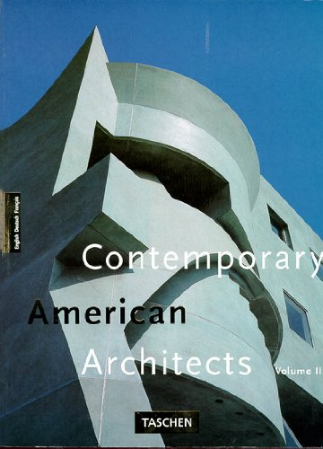 CONTEMPORARY AMERICAN ARCHITECTS : Volume 3