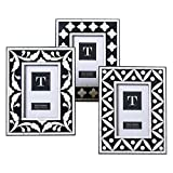 "Two's Company 51459-20 B&W 4""x6"" Frame in Asst 3 Designs"