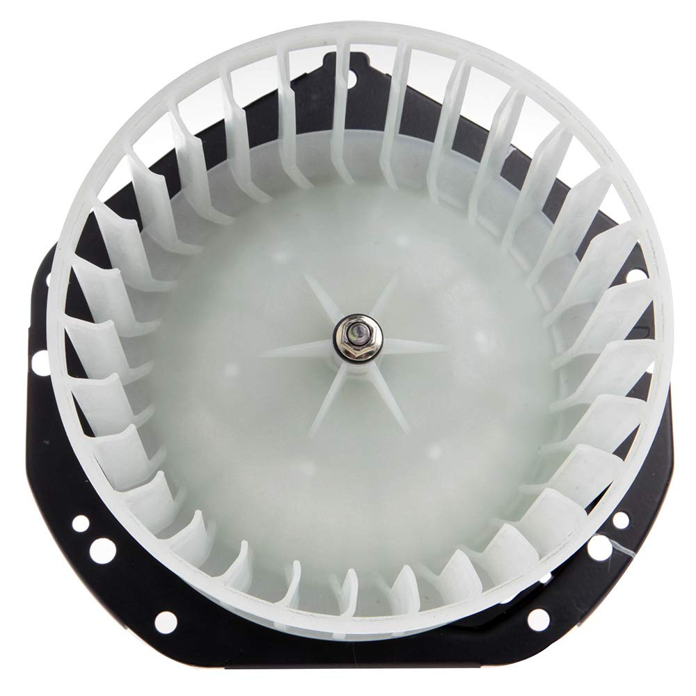 cciyu HVAC Heater Blower Motor with Wheel Fan Cage 52498879 Air Conditioning AC Blower Motor fit for 1994-2004 Chevrolet S10 //1991-2004 GMC Sonoma //1996-2000 Isuzu Hombre